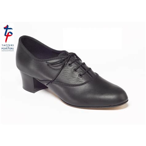 black leather oxford tap shoes dancewear universe