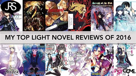 light novel my top 10 light novel reviews of 2016