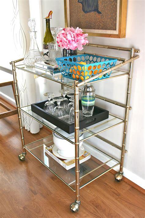 ikea bar cart spices storage home decorating trends pinspiration monday vintage bar cart dream green diy