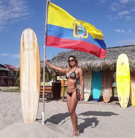 women  montanita ecuador bikini