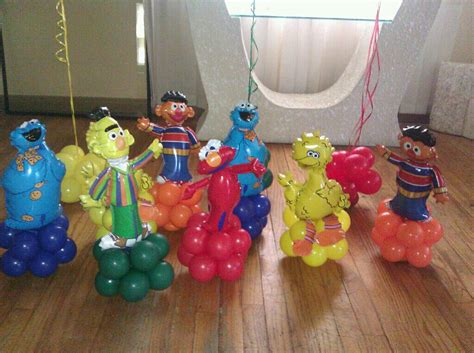 Sesame Street Party Ideas Images Of Heaven Events Elmo Centerpieces Decorations