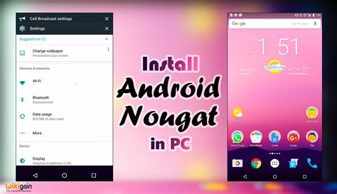 Android On Pc by How To Install Android 7 0 Nougat On Pc Install Android