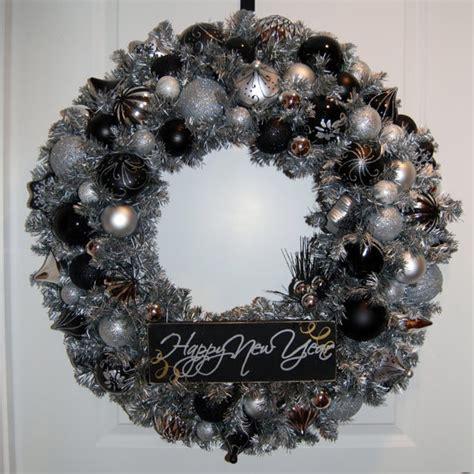new year wreath happy new year wreath wreath
