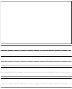 Kindergarten Writing Paper Template by Kindergarten Writing Activities