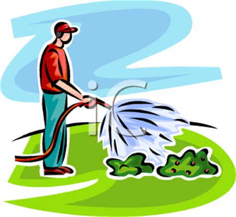 gardener clip lawn and garden clipart clipart suggest