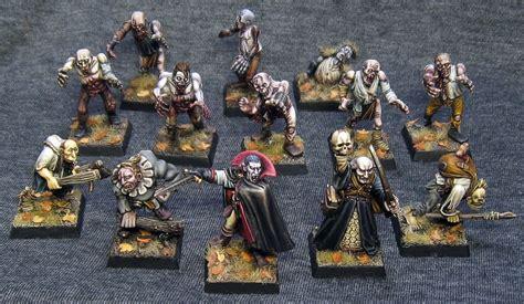 painting workshop zombies mordheim undead warband by northern mordheim