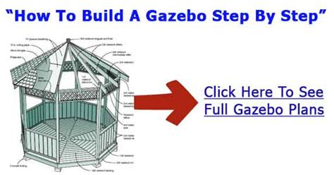 learn how to build a house step by step building gazebo building plans gazebo blueprints