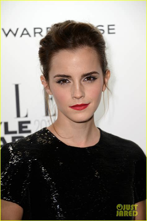 emma watson just jared full sized photo of emma watson elle style awards 2014 04