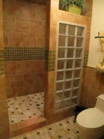 Walk In Bathroom Shower Designs by Master Bath Remodel With Open Walk In Shower For Empty