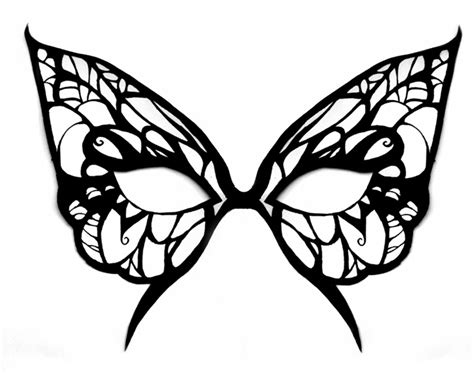 butterfly mask template animal mask template animal templates free premium