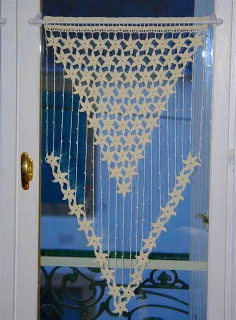 24 patrons des rideaux pour la cuisine en crochet