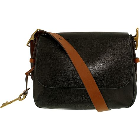 Fossil Satchel Shoulder Bag fossil s small saddle crossbody leather