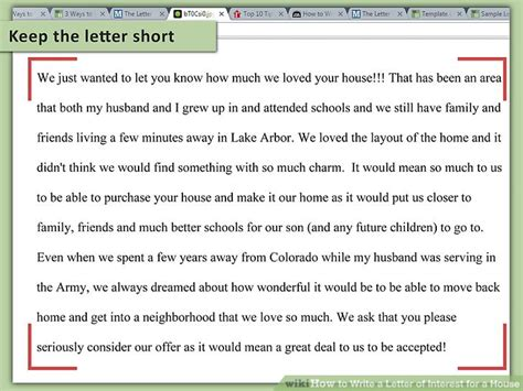 how to get out of a house mortgage 3 ways to write a letter of interest for a house wikihow