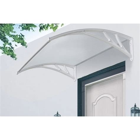 clear awnings hamilton window awning clear door canopy 150x120cm buy
