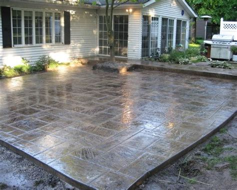 cement patio designs stain patio sted concrete design pictures remodel