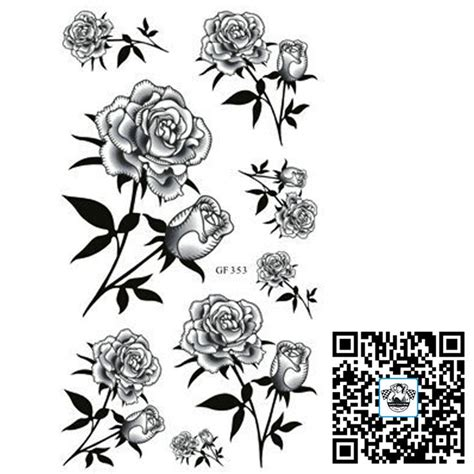 fake rose tattoos 65 best temporary images on cheap