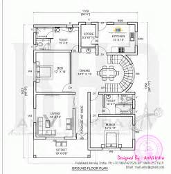 Ground Floor Plan Of A House by July 2014 Home Kerala Plans
