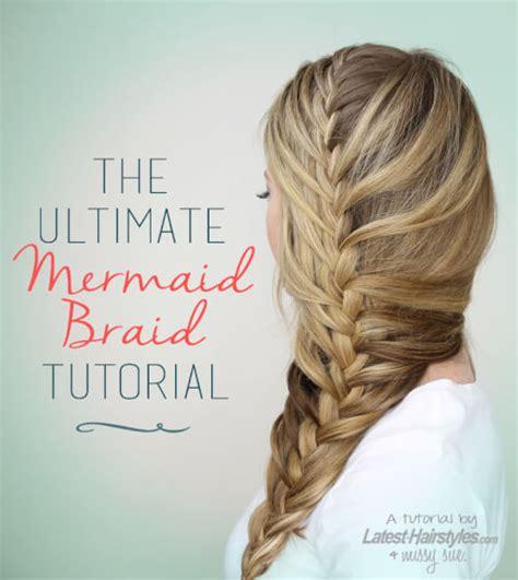the ultimate mermaid braid step by step instructions the ultimate mermaid braid step by step instructions