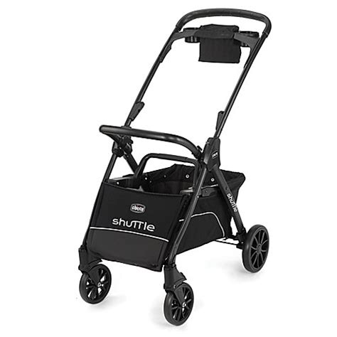 chicco shuttle caddy stroller in black chicco 174 shuttle caddy stroller in black buybuy baby