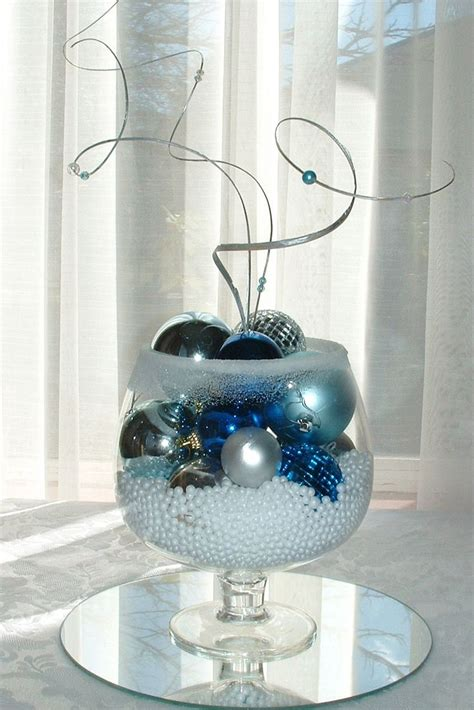 ornament centerpiece winter ornament centerpiece decor inspirations