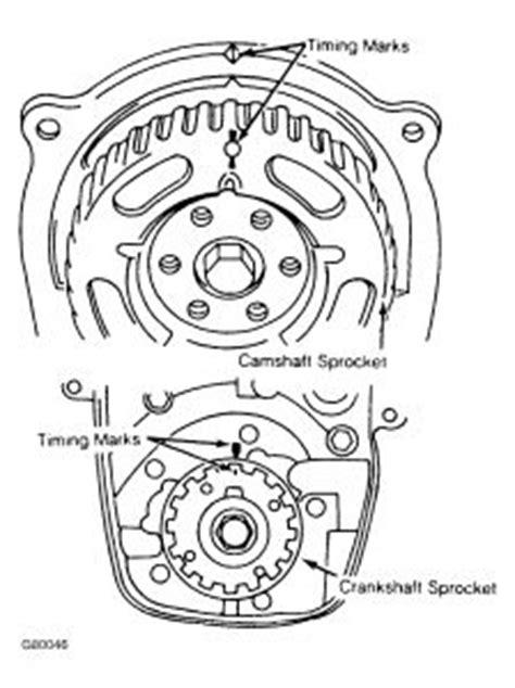1994 geo metro timing belt line up: engine performance