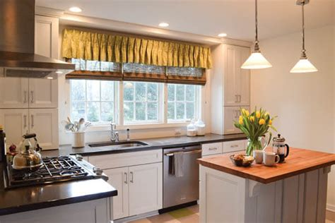 what to consider when selecting window treatments for kitchens