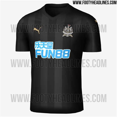 Logo Bordir Jersey Bali United Home 17 18 the newcastle 2017 18 away shirt is predominantly black