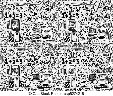 draw pattern en español seamless 學校 圖案csp5274218 的向量圖片 搜尋美工圖片 插圖 圖示和向量 eps 美工圖像