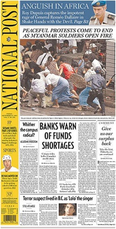 Canadas National Newspaper by National Post