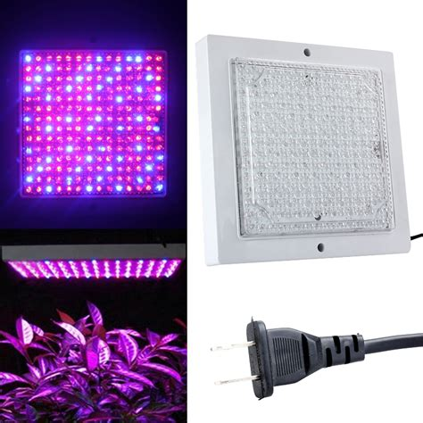 110v 196led plant grow light indoor hydroponic spectrum