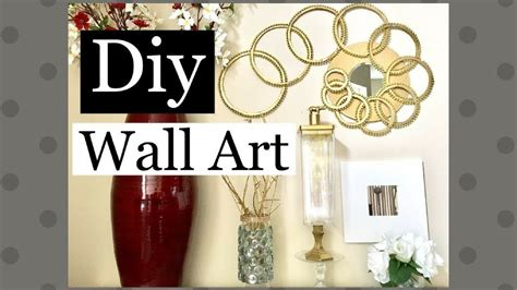 dollar tree home decor diy wall art home decor using regular items along with