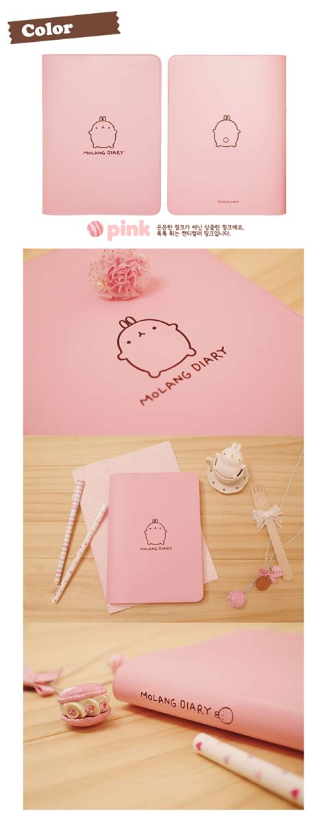 molang books molang diary planner journal undated scheduler