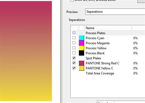 corel draw x7 gradient pantone color in gradient fills is read as a rgb color