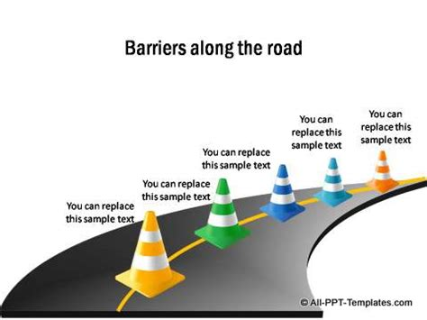 road map powerpoint template 15 best images of powerpoint road map graphic free