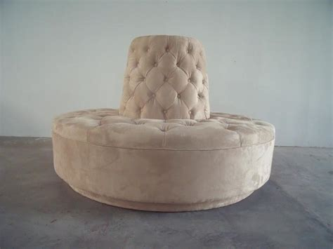 round settee for sale round settee for entryway homesfeed