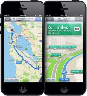 apple maps for android 301 moved permanently