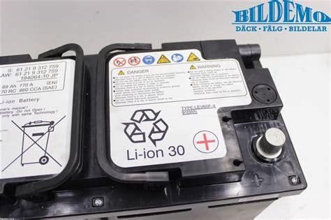 bmw 3 series battery battery bmw 4 series 14 w807448