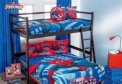 spiderman bunk beds   spiderman room decor