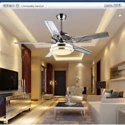 Dining Room Ceiling Fans With Lights Dining Room Living Room Ceiling Fan Lights Led European Modern Simple Fashion Cuntie Leaf Fan