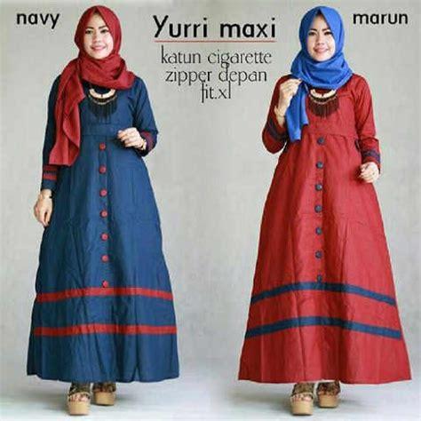 Baju Muslim Wanita Maxi Dress Stelan F Kode Df6134 2 baju muslim remaja yurri maxi trendy http bajumuslimbaru baju muslim remaja yurri maxi