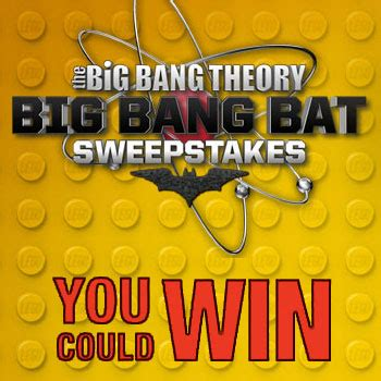 Big Bang Theory Sweepstakes - big bang theory big bang bat sweepstakes daily answers