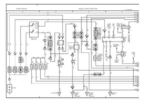 2004 toyota tacoma wiring diagram fuel toyota auto