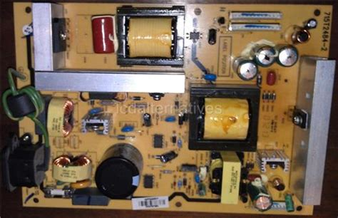 magnavox tv capacitors magnavox 37mf437b37 lcd tv repair kit capacitors only not the entire board lcdalternatives