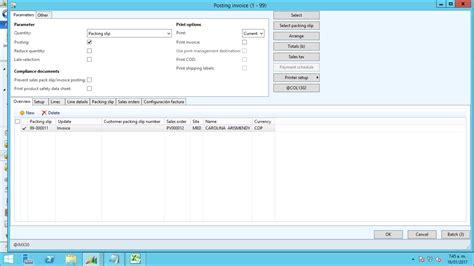 sle invoice register sales order problem with invoice register microsoft