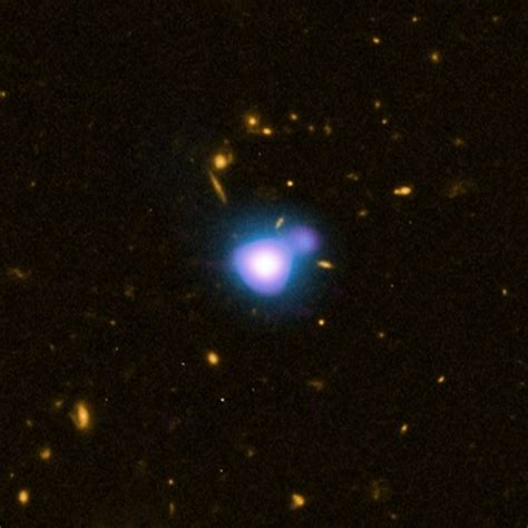 Ton 618 Nasa ancient quasar imaged when the universe lacked heavy metal