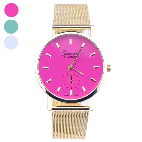 delicate watches stainless steel mesh top brand