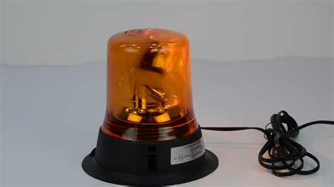 swiss golden beacon rotating color 12v halogen blue waterproof rotating warning
