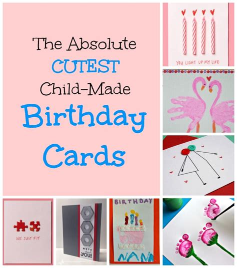 childrens cards to make birthday cards for to create how wee learn