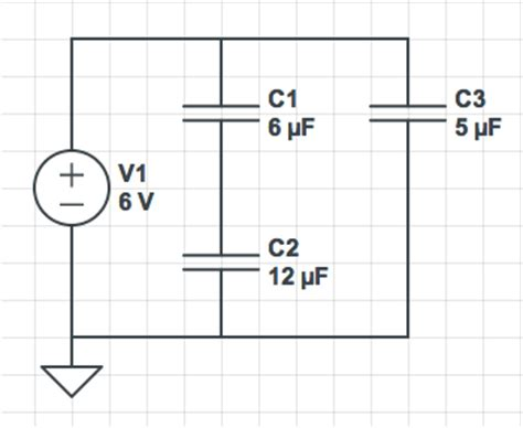 voltage drop across series capacitor solving capacitor voltage quot drops quot electrical engineering stack exchange