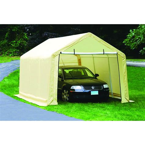 Canvas Garages by 10 Ft X 17 Ft Portable Garage